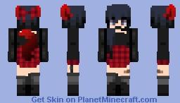 Edgy Gothic (Karma) ~Mqtsukq Minecraft Skin