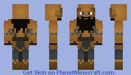 Throri 'Warmheart' Stonemace - Dwarven Warrior Minecraft Skin