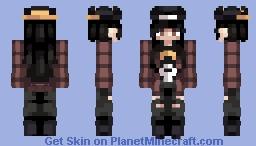 Overwatch Girl Minecraft Skin