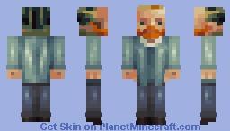 Vincent van Gogh | a 100th Skin Minecraft