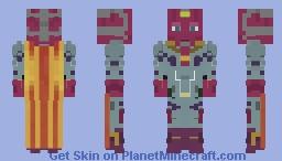 Avengers Infinity War - Vision Minecraft Skin