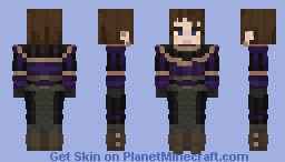 Augusta of Galloy, The loyal knight Minecraft
