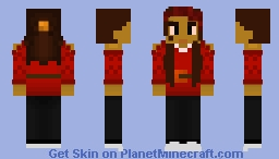 Zara Minecraft Skin