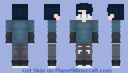 Chico Normal Minecraft Skin