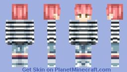 Chico fase Dios Minecraft Skin