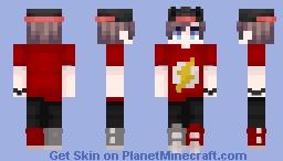 The Flash fan Minecraft Skin