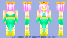 Sand Princess ♪//Jadeite Minecraft Skin