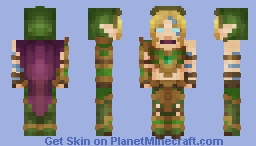 Alleria Windrunner : World of Warcraft Minecraft Skin