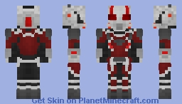 Ant-Man Minecraft Skin