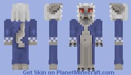 ﴾ξꭚꞕꝍ₮₮ἷ﴿ The Evil Wolf As Grandmother Minecraft Skin