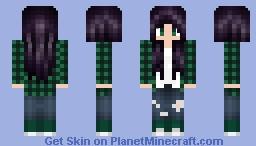 Forrest Flannel Minecraft Skin