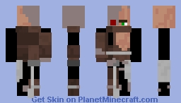 CYBORG VILLAGER Minecraft Skin
