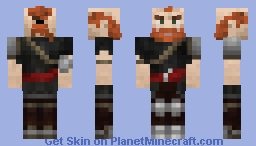 Hunter Dwarf Minecraft Skin