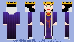 The Evil Queen [Snow White] - Fairy Tale Skin Contest Minecraft Skin