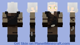 Witcher 3: Manticore Armour Minecraft Skin