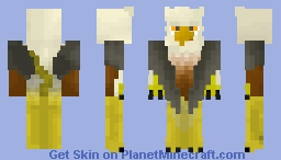 the griffin (fairy tale contest) Minecraft Skin