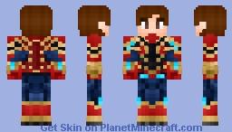 Avengers Infinity War Iron Spider peter parker Minecraft Skin
