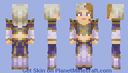 Jaina Proudmoore : World of Warcraft Minecraft Skin
