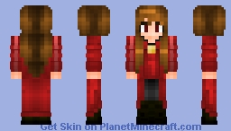 Avengers Infinity War Scarlet Witch Minecraft Skin