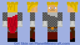 King Arthur Minecraft Skin