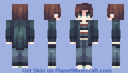 more than survive Minecraft Skin