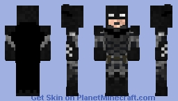 Batman arkham knight bat suit V2.0 Minecraft Skin