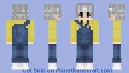 ❈Taehyung/V❈ {BTS GoGo performance} Minecraft Skin