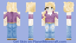 𝓣𝓱𝓲𝓬𝓬 - 'basic white girl' experimental realism Minecraft Skin