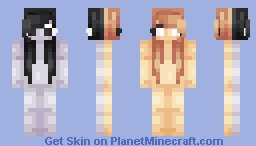 Sun and Moon - OC Minecraft Skin