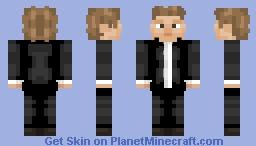 Magnus Carlsen Minecraft Skin