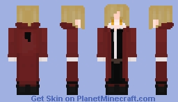 Edward Elric - The Fullmetal Alchemist Minecraft