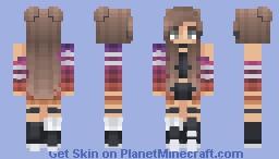 ★𝕮𝖍𝖊𝖊𝖗𝖎𝖔𝖔𝖘★ Stay in Memory Minecraft Skin