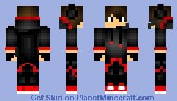 CoolRed-BlackGuy Minecraft Skin