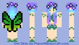 Forest Fairy Minecraft Skin