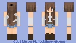 Country Farm Girl Minecraft