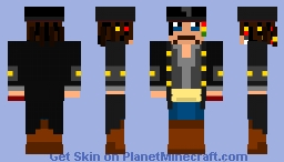 Captain Jack Sparrow Minecraft Skin