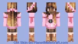 i would react badly to the slightest hint of hesitance // RE Minecraft Skin