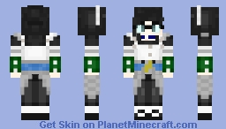 [Overlord] Yuri αlphα Minecraft Skin