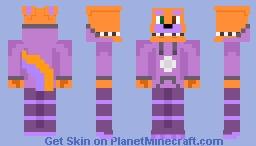 Soda Pop the Box Monster (Rare/Pinkie's species of Box Monster) Minecraft Skin