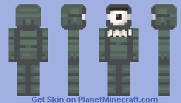 Plankton Minecraft Skin