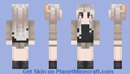 Almost animal like   Request by Crossbreed Priscilla Minecraft Skin