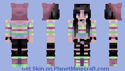 Black Cherry // 70+ Subs & 30th Submission! // Popreel! Minecraft Skin