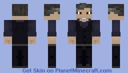 Bruce Wayne BvS Minecraft Skin