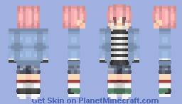 Jimin - BTS - Spring Day Minecraft Skin