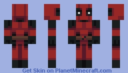 Deadpool Minecraft Skin