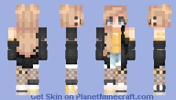 Bumble Bee Minecraft Skin