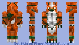 Grand Chase Ryan wolf skin Minecraft Skin