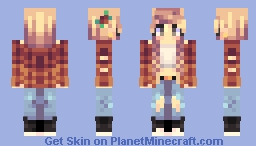 high five Minecraft Skin