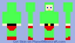iDubbbz green suit Minecraft Skin