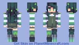 danny > greens + blues Minecraft Skin